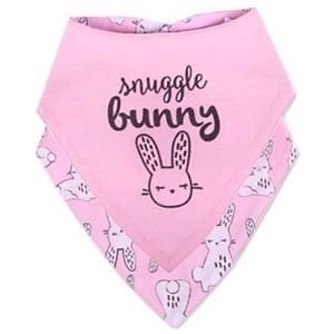 5/$25 Set of 2 Nursery Rhyme Bunny Bibs